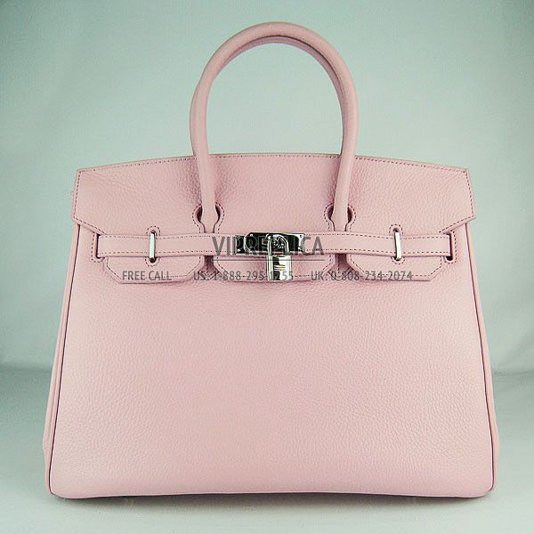 Hermes Birkin Light Pink Silver 2