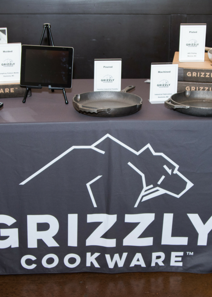 Grizzly Cookware Pre Launch Event Iron Skillets