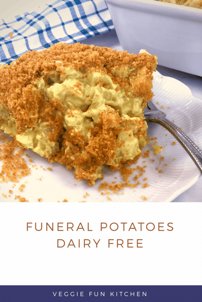 Creamy Vegan Funeral Potatoes You Ll Be Proud To Serve Recipe In 2020 Dairy Free Vegan Recipes Healthy Funeral Potatoes