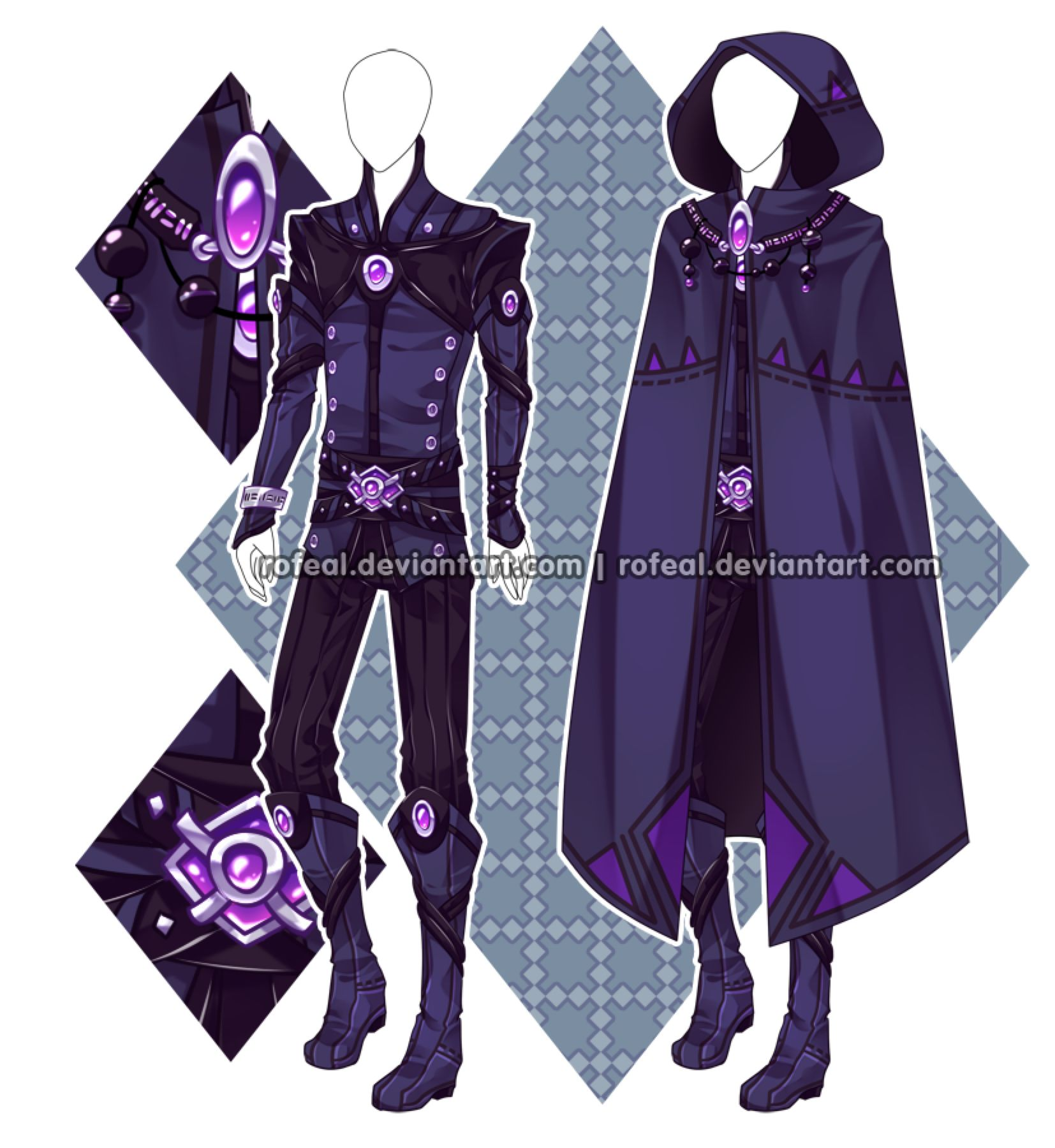 Auction Closed Character Outfits Art Clothes Fantasy Clothing