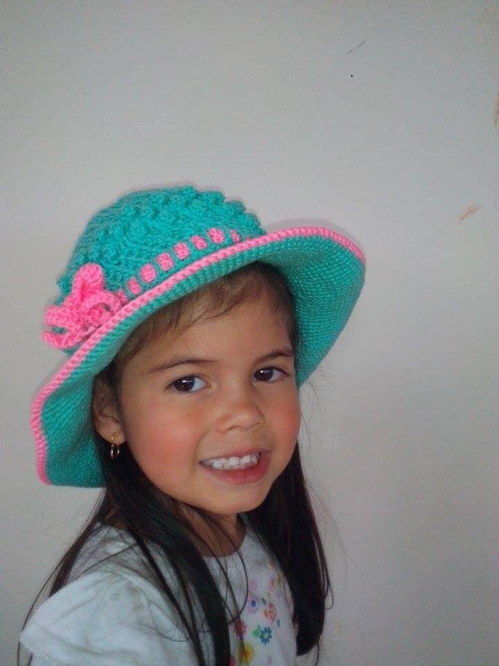 Sombrero Playero en Crochet | Knitting & crochet | Pinterest ...