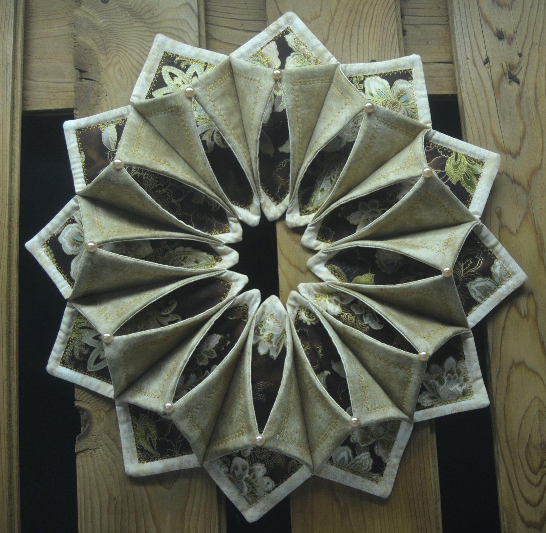 """Www Fotoventasdigital Com Diy Burlap Wreath That Folding: 19"""" Fold'n Stitch Wreath By CountryInspireCreate On Etsy"""