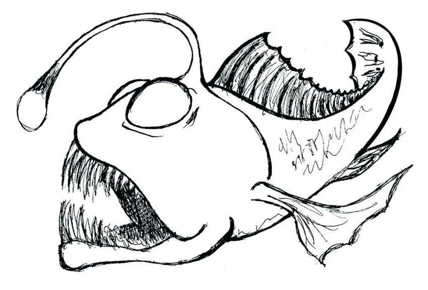 fish coloring pages realistic   Fish drawings, Fish ...