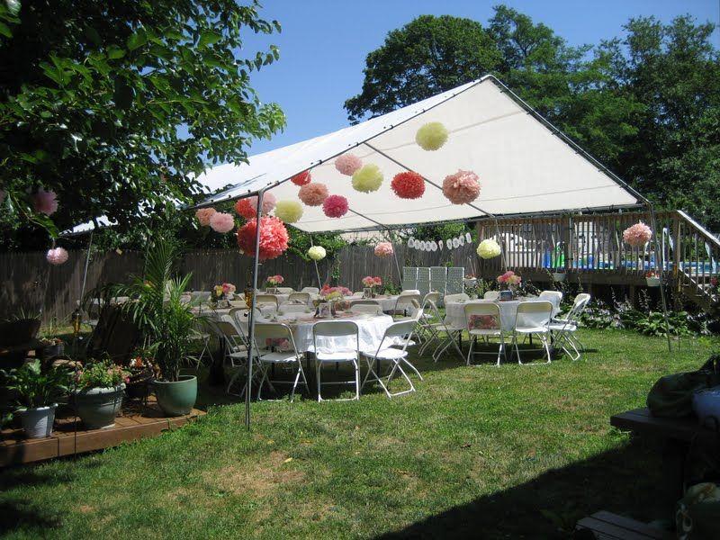 Beau Backyard Parties, Garden Parties, Teacher Party, Themed Bridal Showers,  Wedding Showers, Garden Baby Showers, Roof Top Tent, Shower Time, The Top