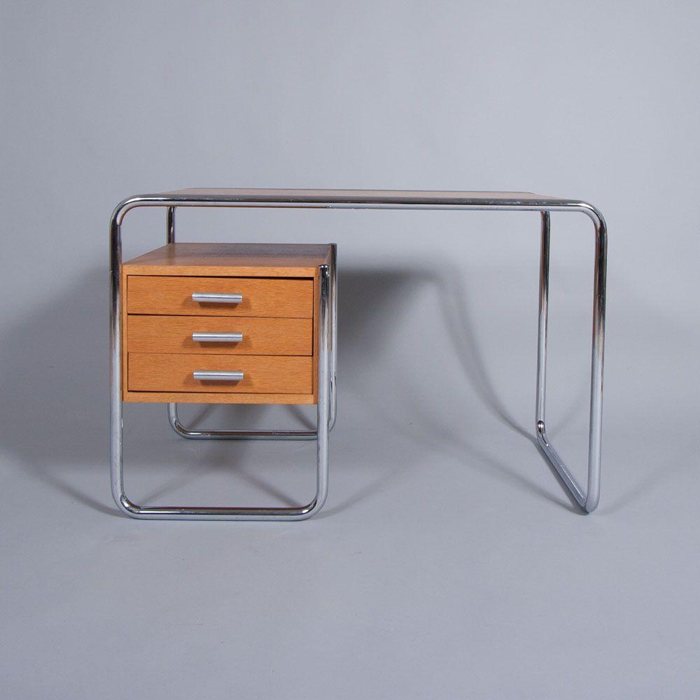 Desk S286 Marcel Breuer 1934 Produced By Thonet Bauhaus