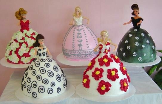 Specialty doll cakes
