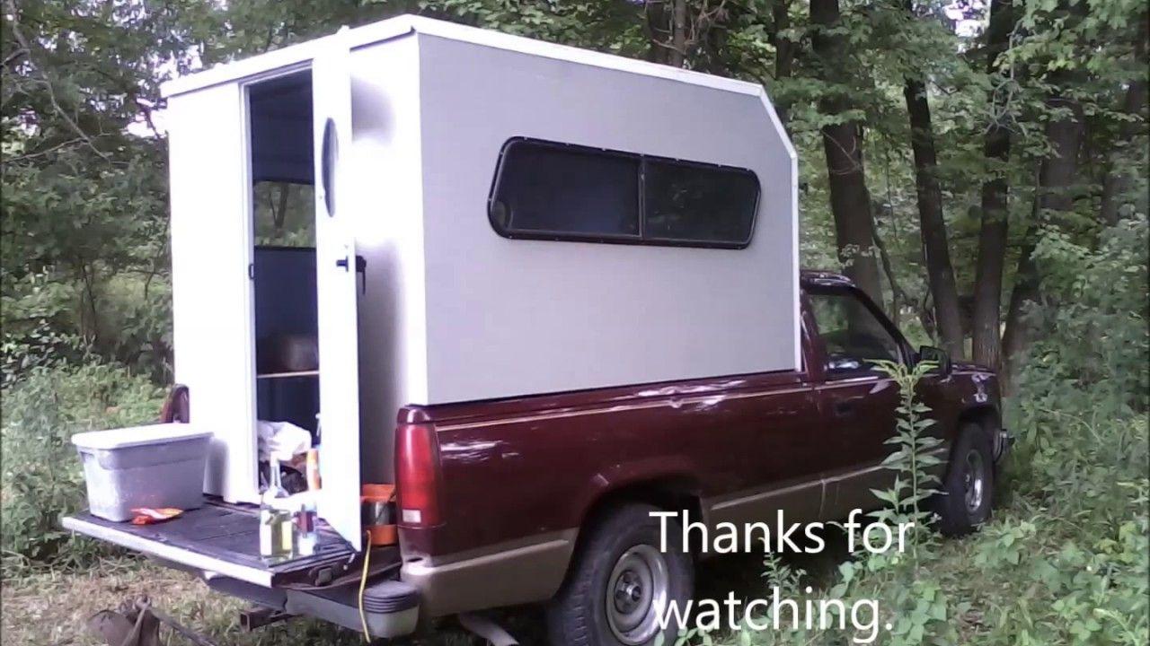 Truck Camper Build Youtube Truck Trucks