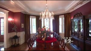 Living Large: $7 Million Wilton Home With A Theater, Diner And Climbing Wall ~ Video CBS 2's Emily Smith Reports