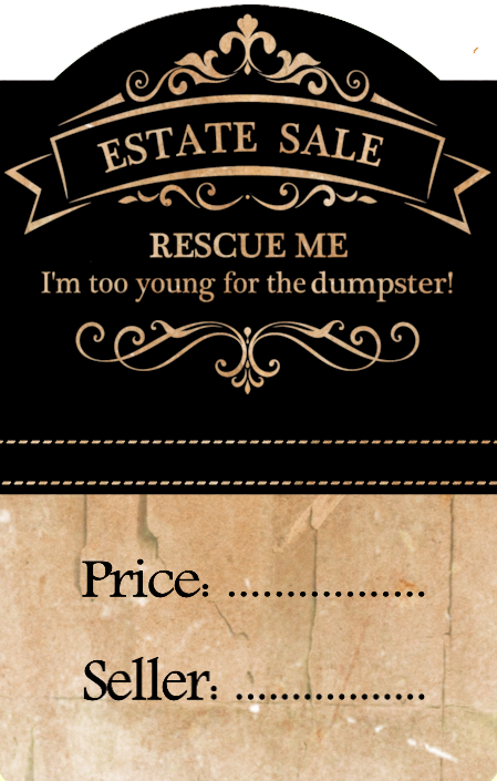 Free Printable Estate Sale Price Tags Add A Touch Of Humor