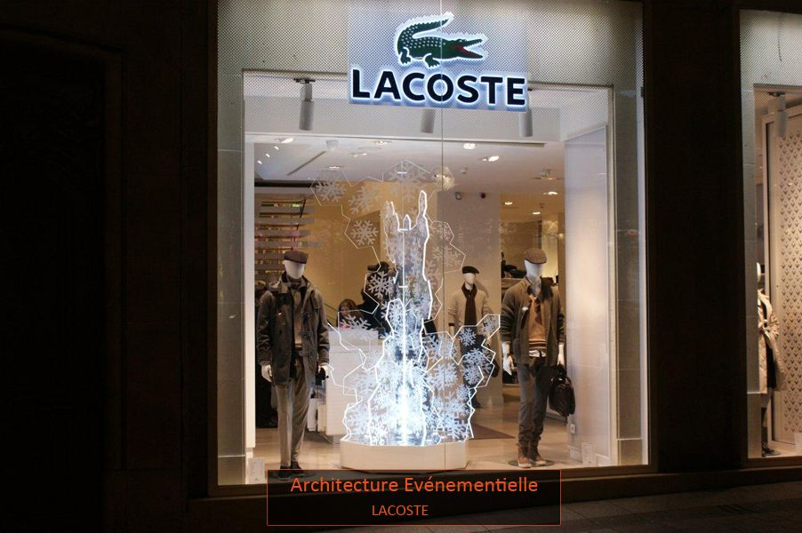 Christmas time for  Lacoste by  DPS Production   Retail P3 ... 4ddcb6d64a