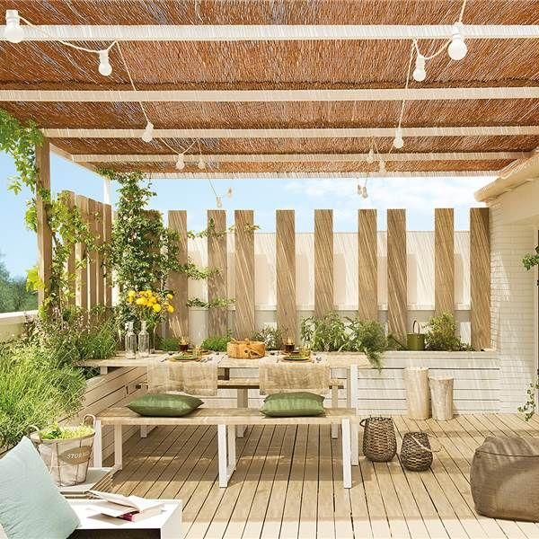 3 porches para vivir un verano inolvidable Terrazas Pinterest - Terrace Design