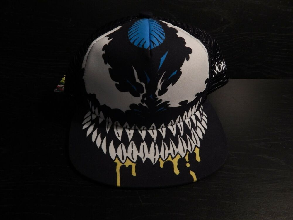Venom Marvel Hat Small Fashion Clothing Shoes Accessories Mensaccessories Hats Ebay Link Marvel Hats Hats Fitted Hats