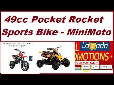 Shop At Lazada Tinker Mini Moto 49cc Pocket Rocket Motor Bike