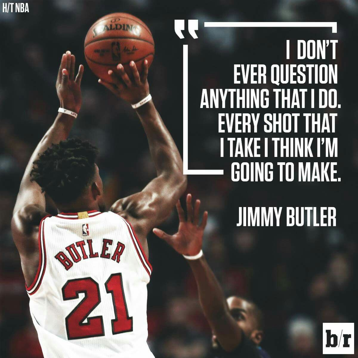 Bulls Guard Jimmy Butler On His Current Statistical Hot Streak Sports Quotes Sports Quotes Basketball People Quotes