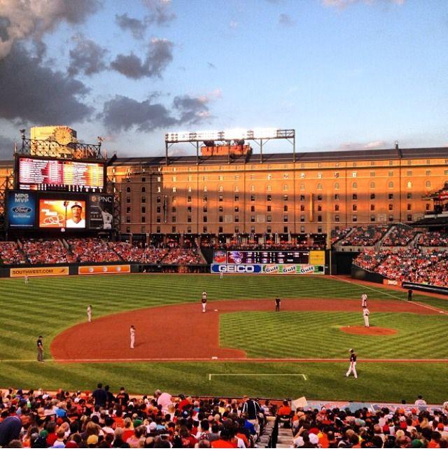 Oriole Field At Camden Yard Camden Yards Baseball Stadium Baseball Field