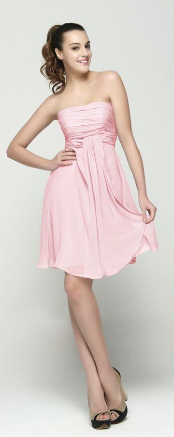 Light Pink Short Prom Dresses Abiballkleider Abendkleider