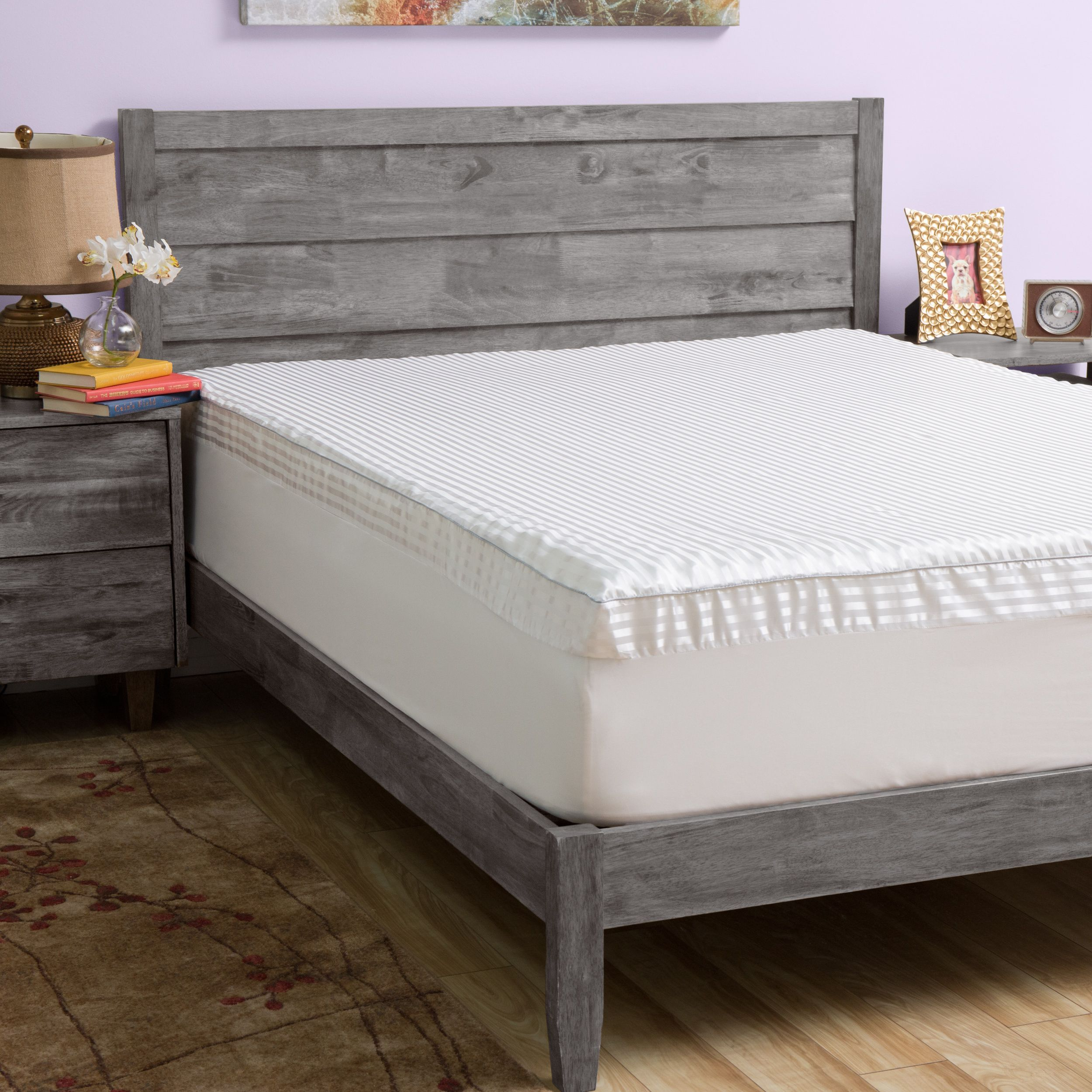 Slumber Solutions Big Comfort 3inch Memory Foam Mattress