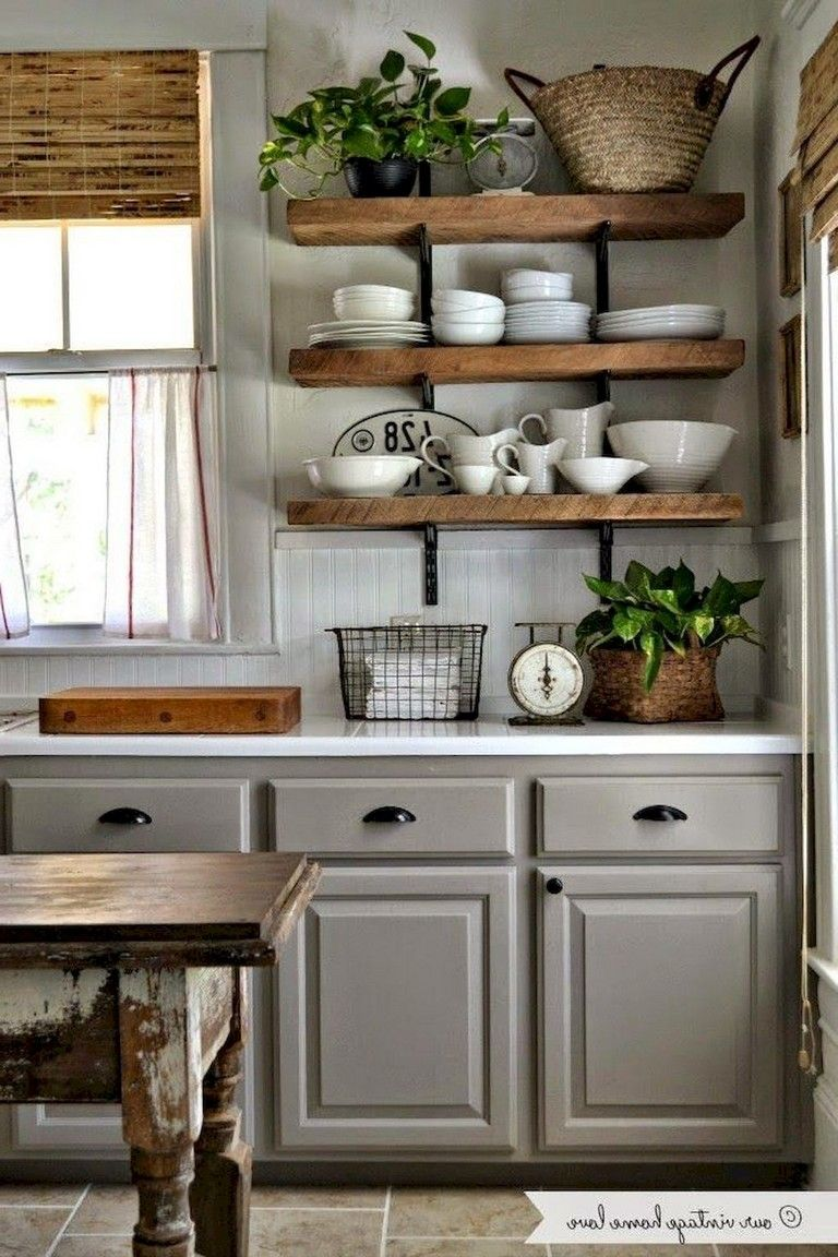 68 Beautiful And Quaint Cottage Interior Design Decorating Ideas Page 43 Of 70 Country Kitchen Decor Farmhouse Kitchen Decor Country Kitchen