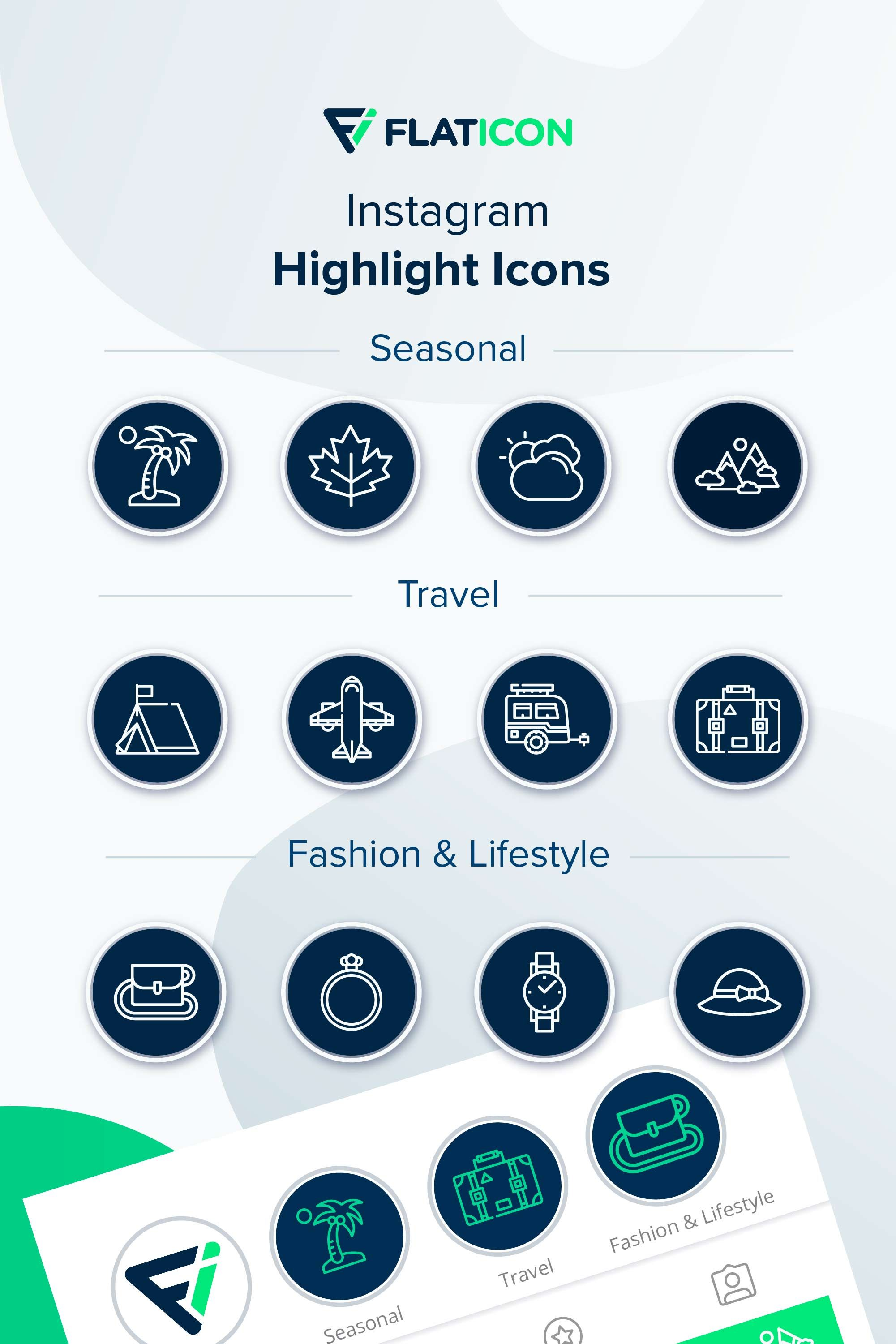 1,758 icon packs of travel Instagram highlight icons