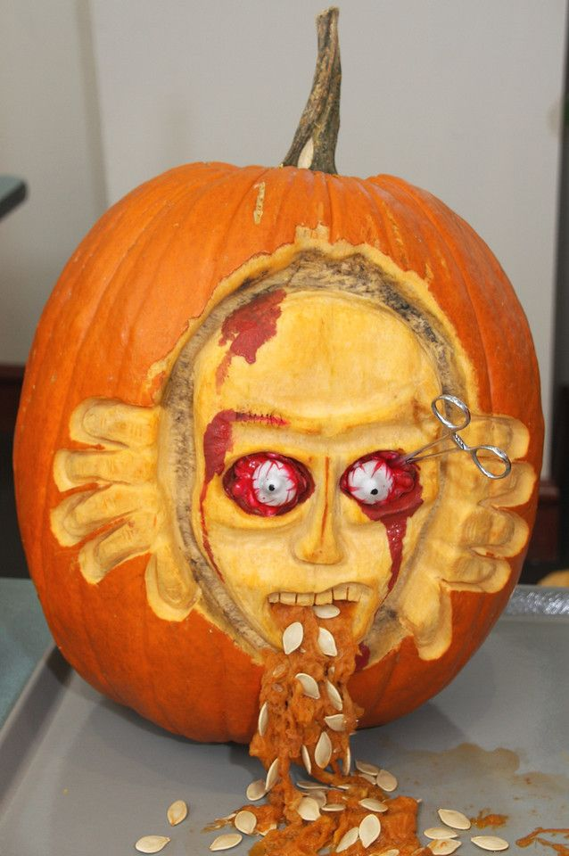 Charleston Daily Photo: The Great Healthcare Pumpkin Carving Contest 2013