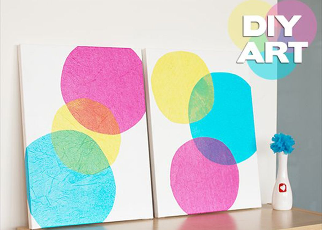 Tissue paper wall art pinterestbonniewphotos for