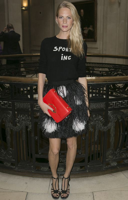 Poppy Delevingne in Matthew Williamson