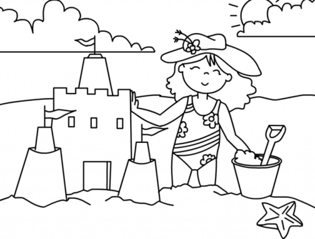 Breezy Summer Beach Coloring Pages Summer Coloring Pages Cool Coloring Pages Summer Coloring Sheets