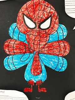 Disguise a Turkey FREEBIE! -   12 disguise a turkey project boy spiderman ideas