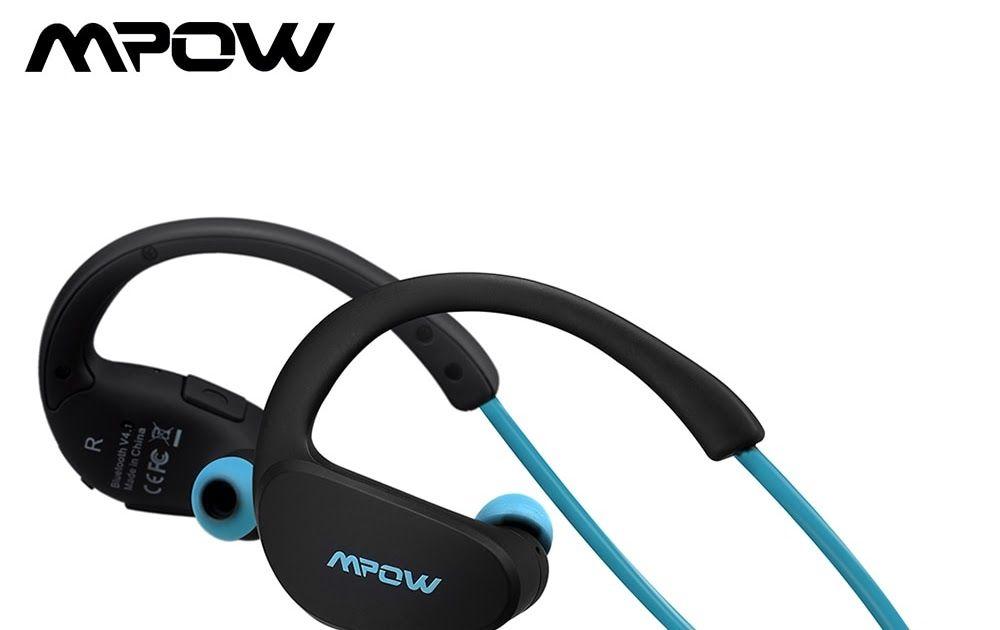 cf393a790b4 Mpow MBH6 Cheetah 4.1 Bluetooth Headset Headphones Wireless Headphone  Microphone AptX Sport Earphone