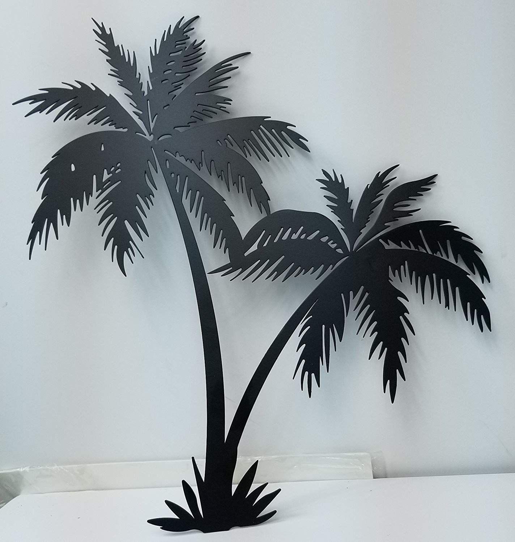 Palm Tree Wall Art Palm Tree Wall Decor Beachfront Decor Palm Tree Wall Art Palm Tree Metal Wall Art Palm Tree Art