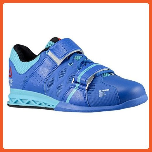 Reebok CrossFit Lifter Plus 2.0 Training Sneaker Shoe - Vital Blue-Neon Blue -Black