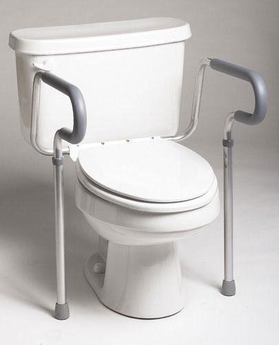 Toilet Safety Frame Retail Guardian Each Medi1132 Toilet