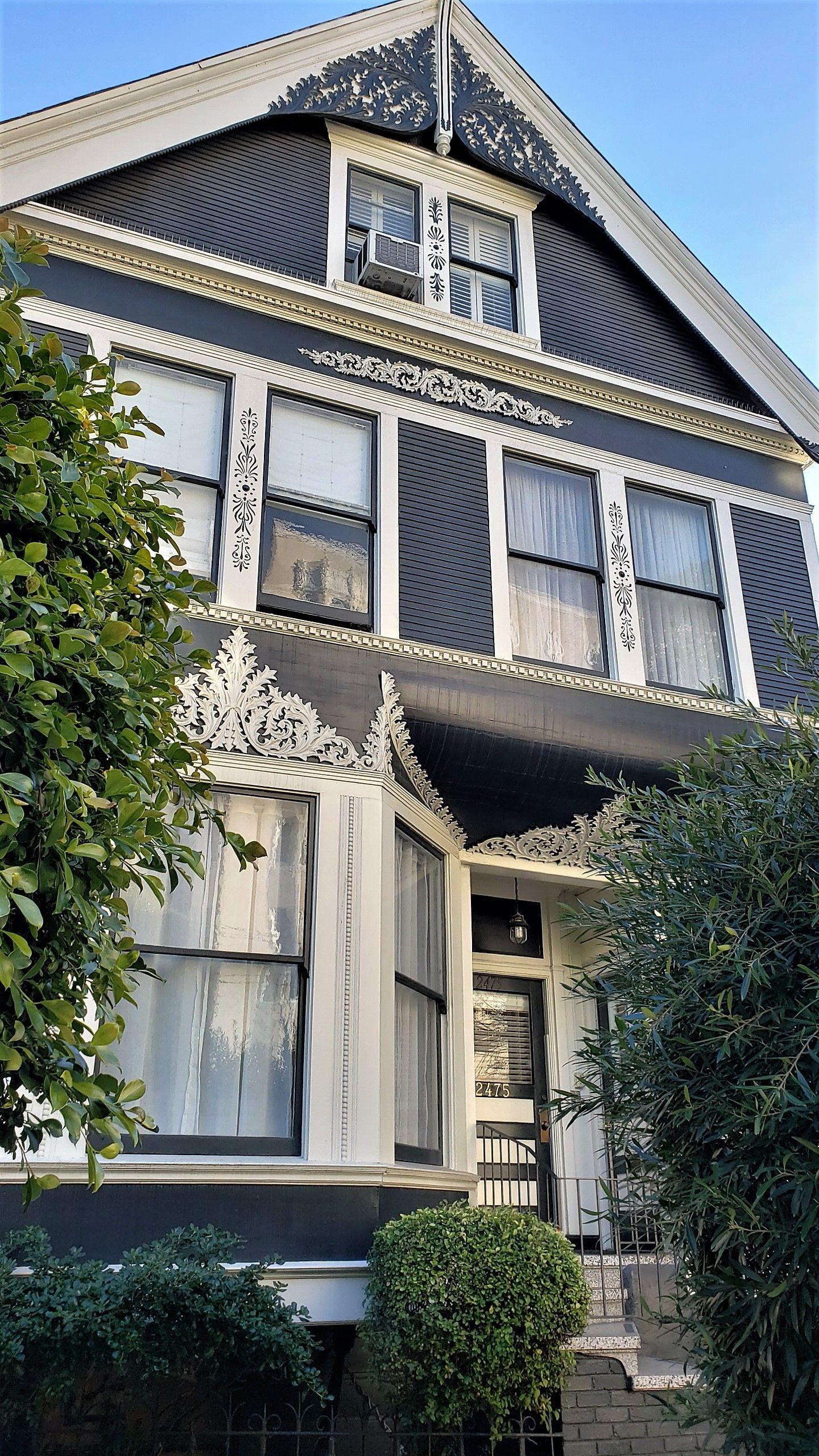 Queen Anne Victorian Washington Street Near Fillmore Photo By