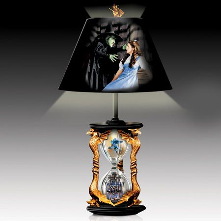 Bradford The Wizard of OZ We/'re Not in Kansas Anymore Dorothy and Scarecrow Lamp