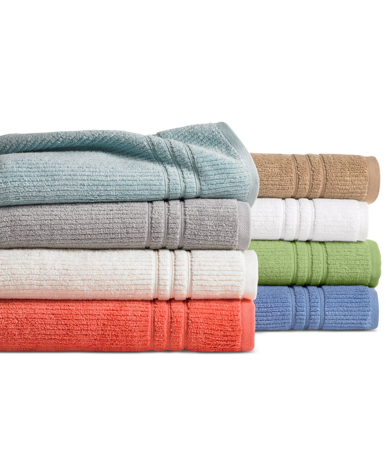 Martha Stewart Collection Quick Dry Bath Towel Collection Only At