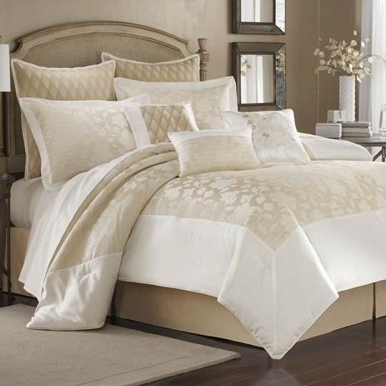 20 Romantic Bedroom Ideas In A Stylish Collection: Domenica Brazzi Romance Bedding Collection $30.00