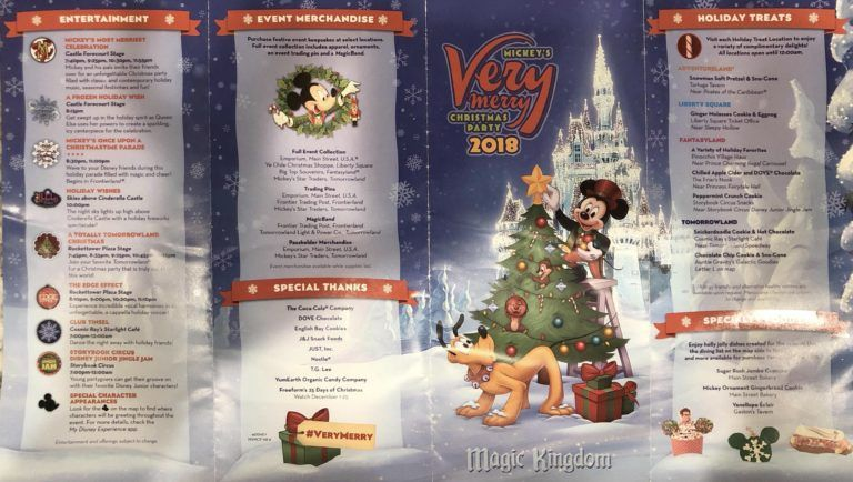 The Definitive Guide to Mickey\u0027s Very Merry Christmas Party Disney