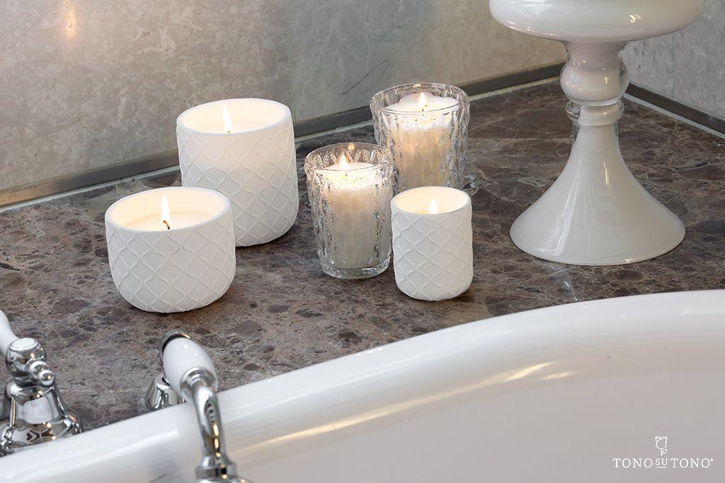 Decorare Candele Bianche : Candele bianche decorative di primaveratonosutono candele