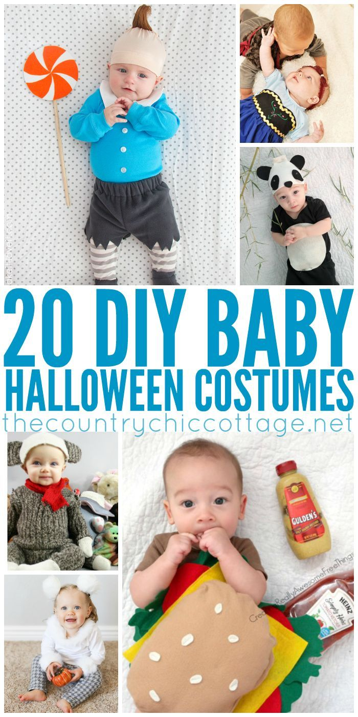DIY Halloween Costumes for Baby Diy baby costumes, Baby