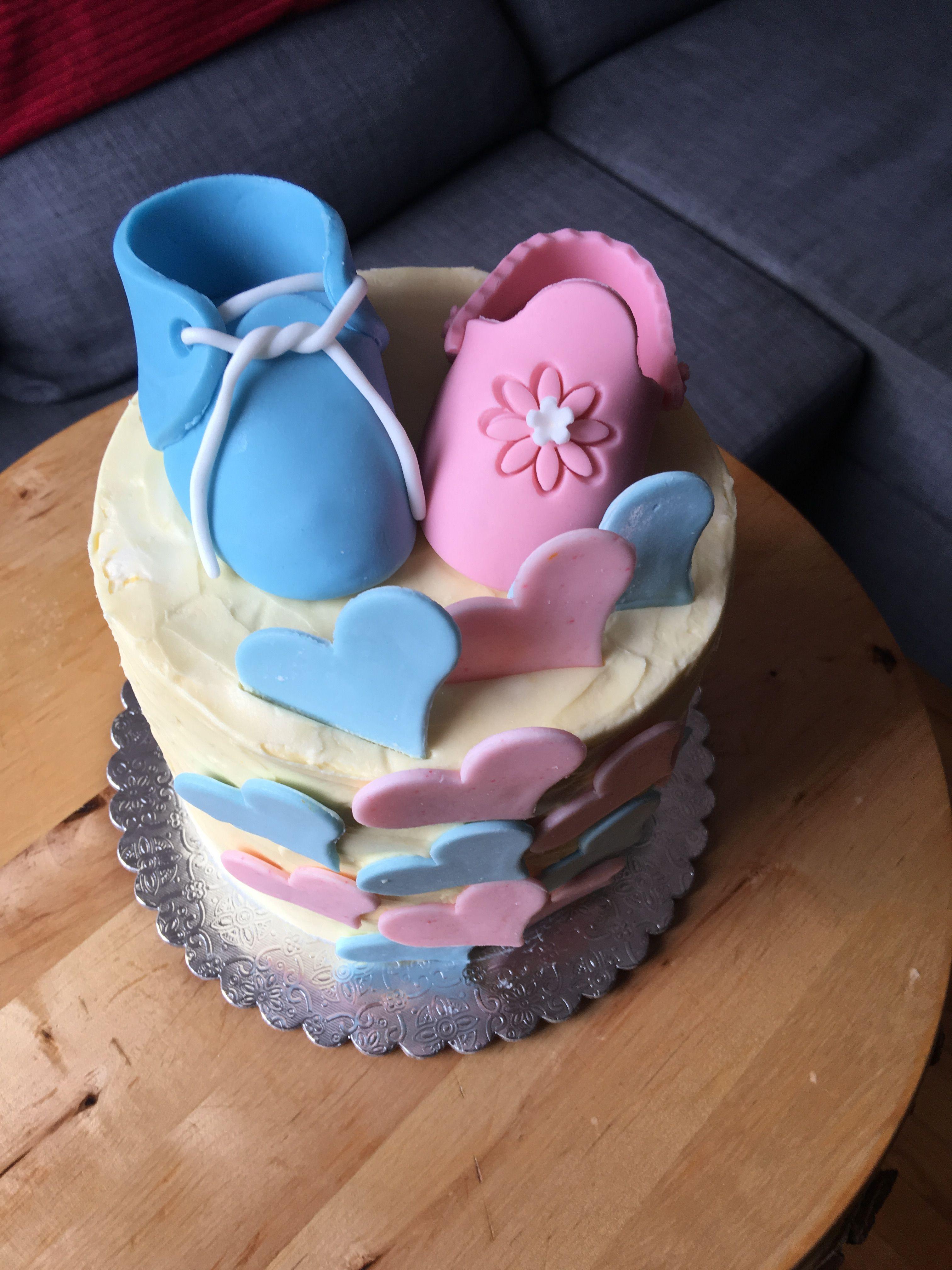 Gender Baby Reveal Cake