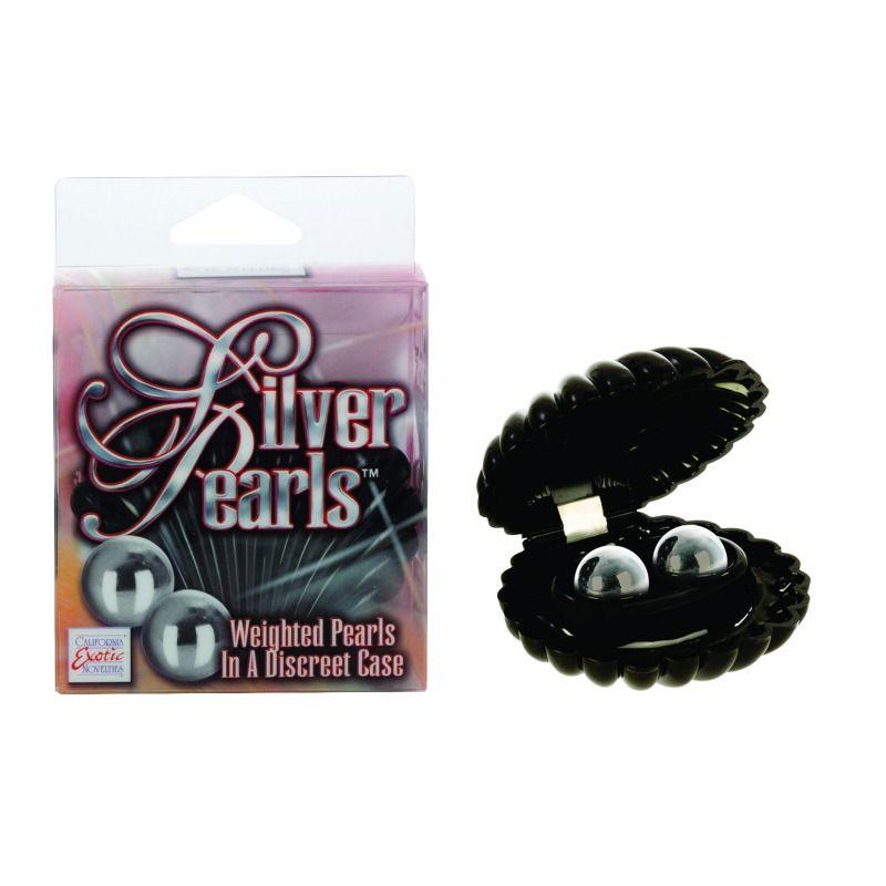 Není šperk jako šperk. Ideální dárek pro pokročilé. Cena 499 Kč. http://www.vasepoteseni.cz/california-silver-pearls-venusiny-kulicky-pro-pokrocile-uzivatelky/detail-zbozi/