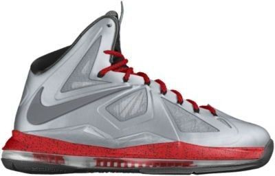 cheap for discount bcaaf 2ce10 Nike LeBron X iD Custom Women s Basketball Shoes - Grey, 14 - Polyvore