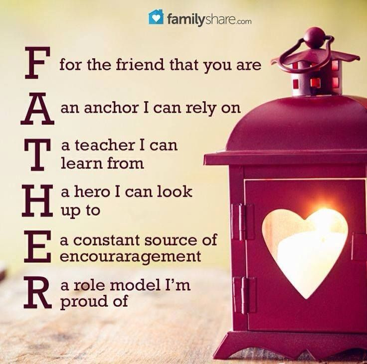 Quotes For Fathers Day For Husband: An Acronym For Father.