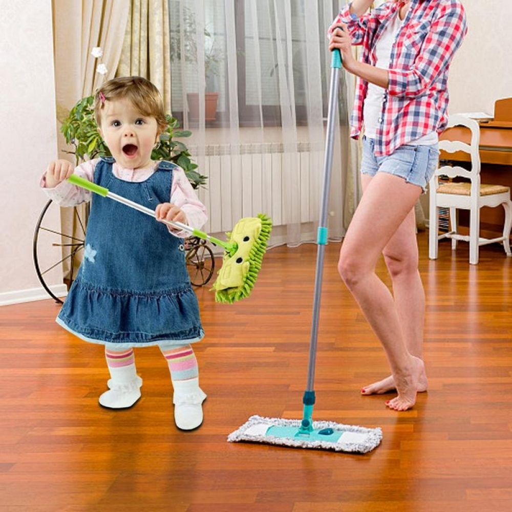 Baby housekeeping toy mini house sweeping cleaning toy