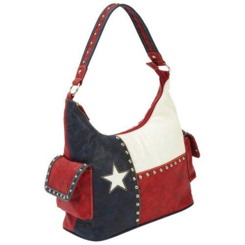 Texas State Flag Casual Outfitters Cowgirl Western Handbag Women S Purse A Ebay Purses Western Handbags Womens Purses