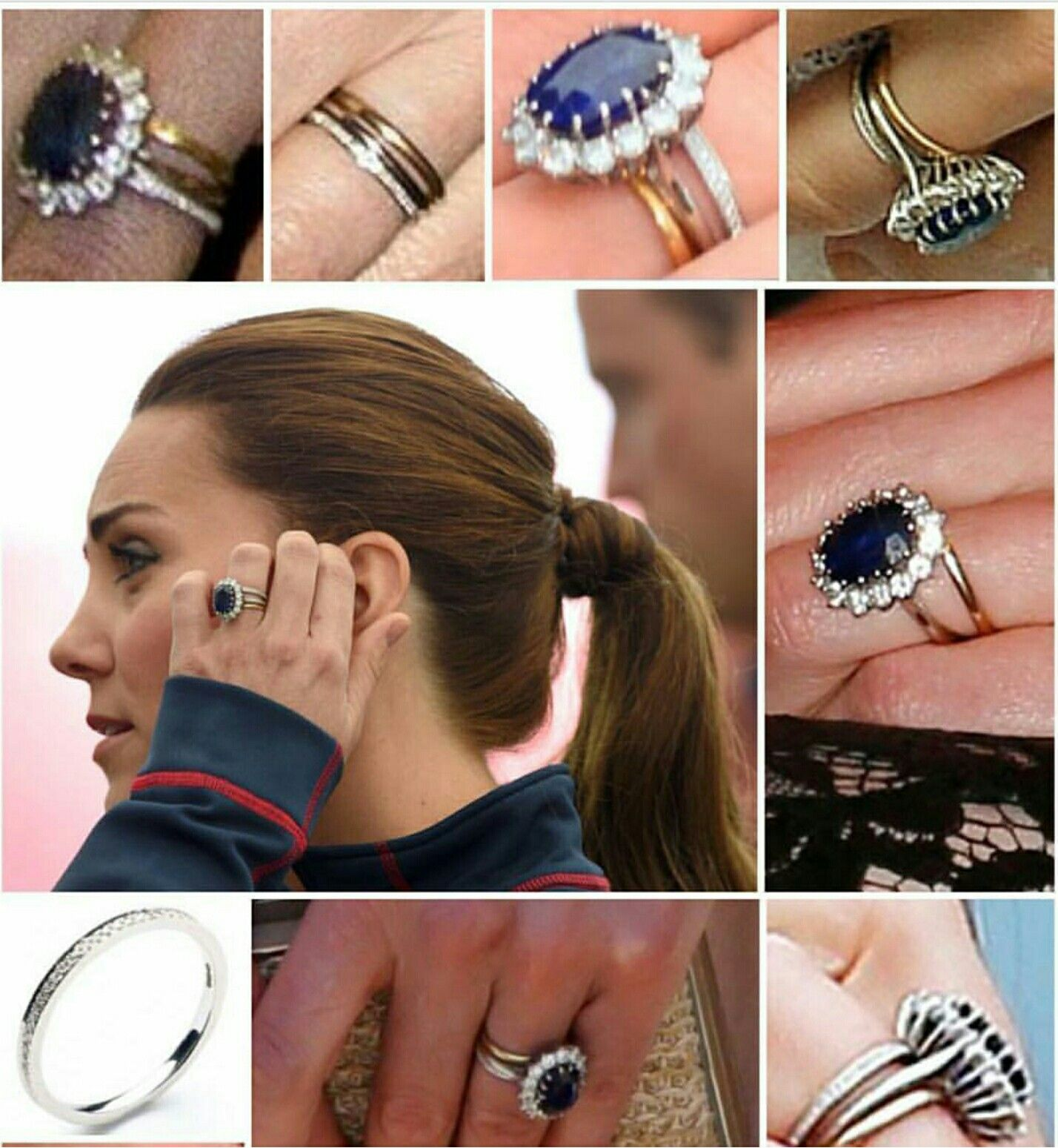 Beautiful Kate Middleton Wedding Ring Princess Diana Ring Kate Middleton Wedding