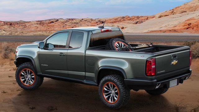 The Chevrolet Colorado Zr2 Diesel Concept Is Amazing Chevrolet Colorado Chevy Colorado New Chevy Colorado