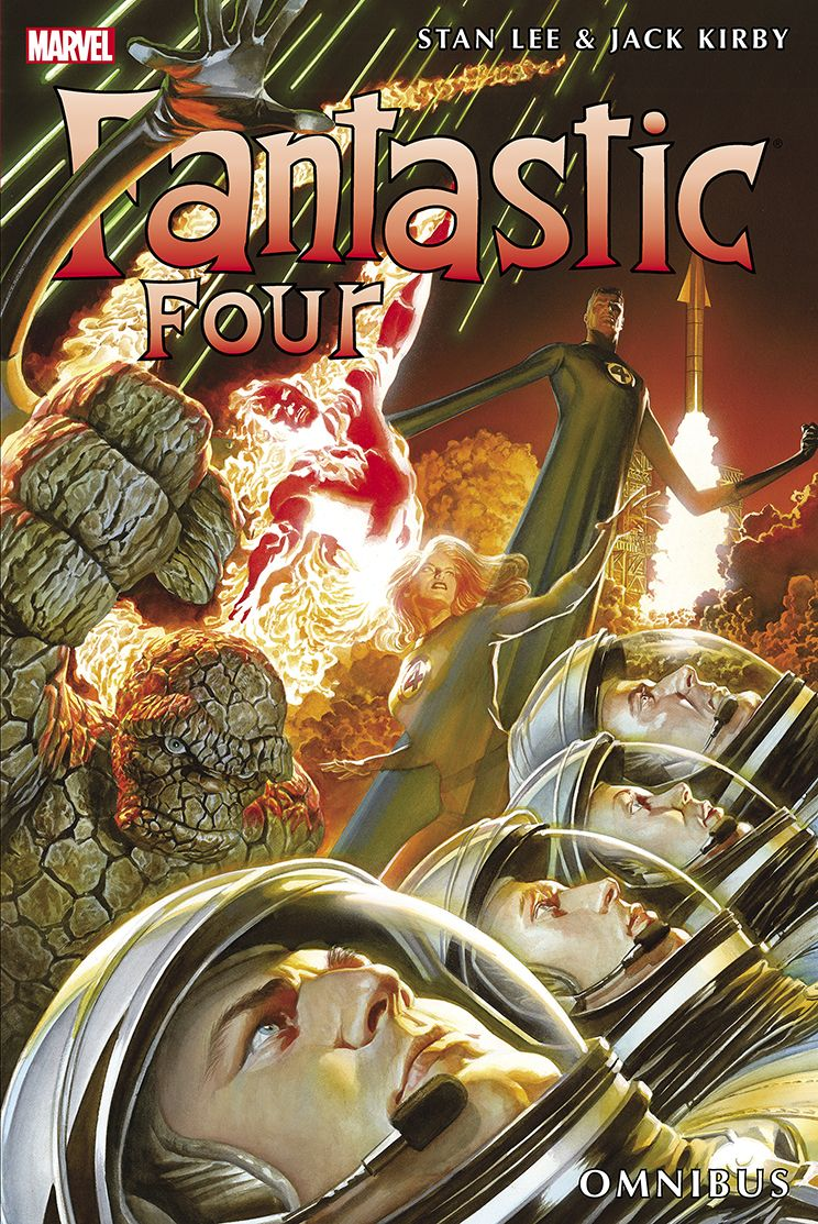 The Fantastic Four Omnibus Vol 4 By Stan Lee And Jack Kirby Marvel Comics Alex Ross Marvel Art Fantastic Four