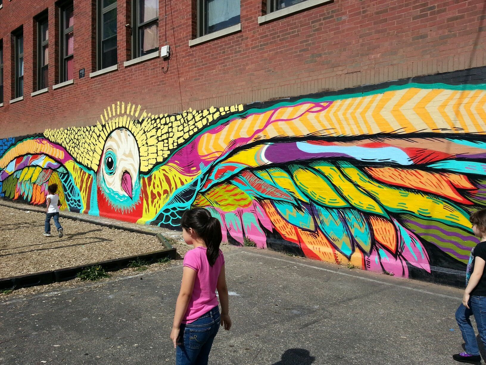 Playground Mural By Joseph Sentrock Perez Located In Chicago S Little Village Neighborhood Street Art Graffiti Murals Outdoor Art