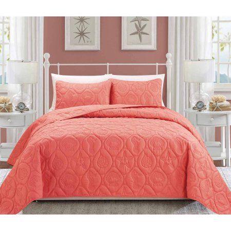 EverRouge Coral 3-Piece Bedding Set - Walmart.com